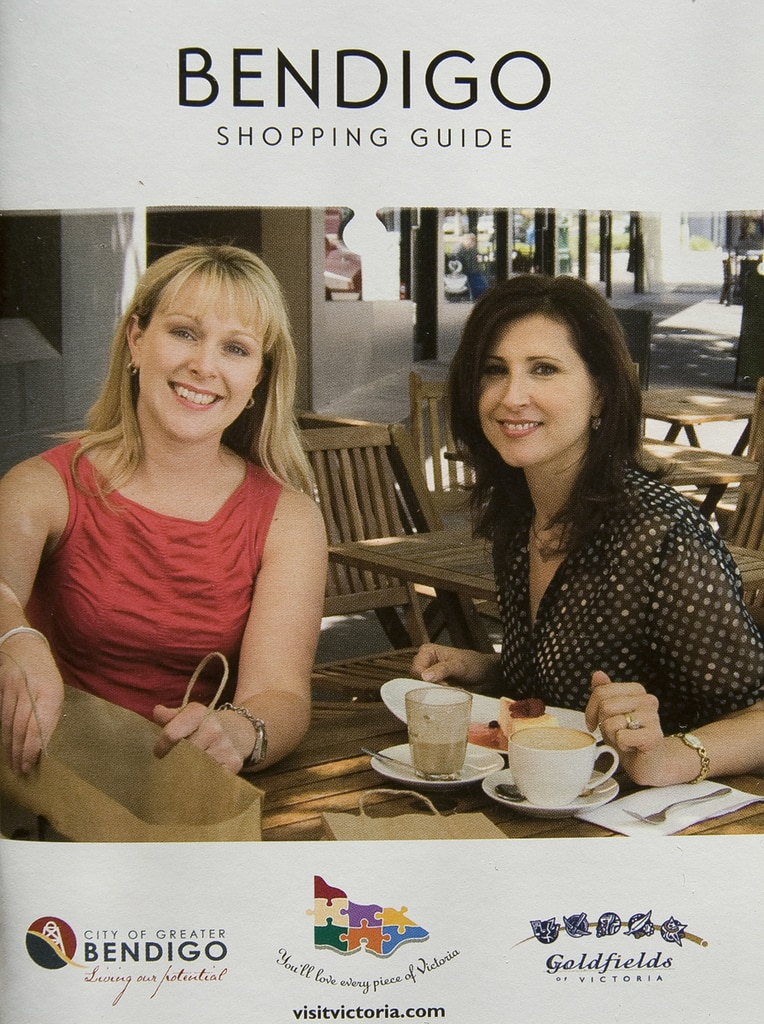 City of Greater Bendigo, Shopping Guide, 2009.