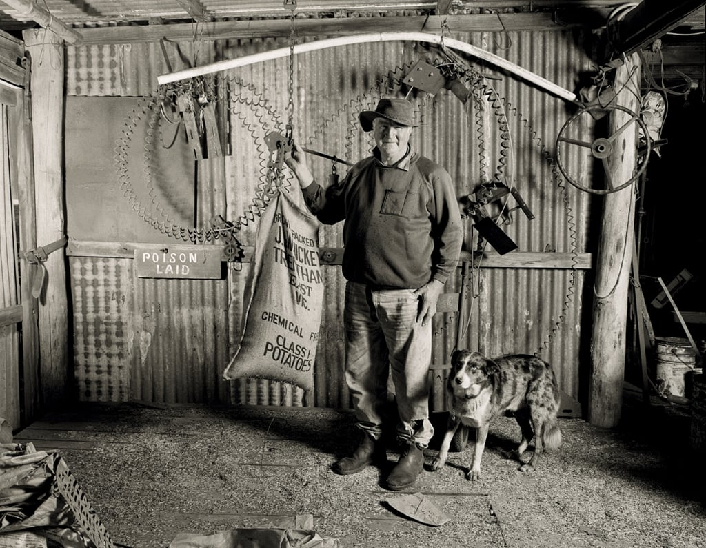 Bill Hickey, Trentham, Vic, SHED, Punctum Inc. 2004 Silver Gelatin Print