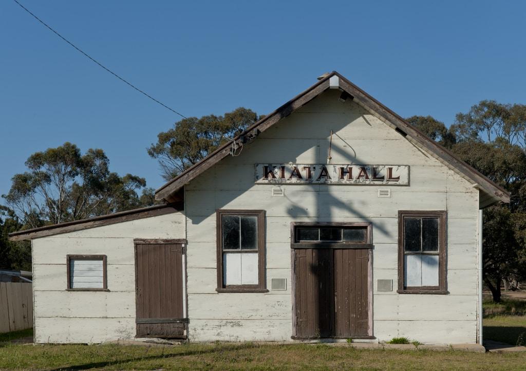 Hall, Kiata, Vic. 2011