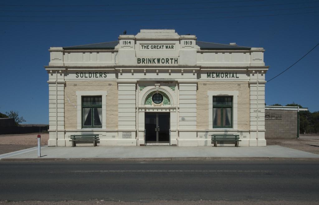 Memorial Hall, Brinkworth, SA 2012