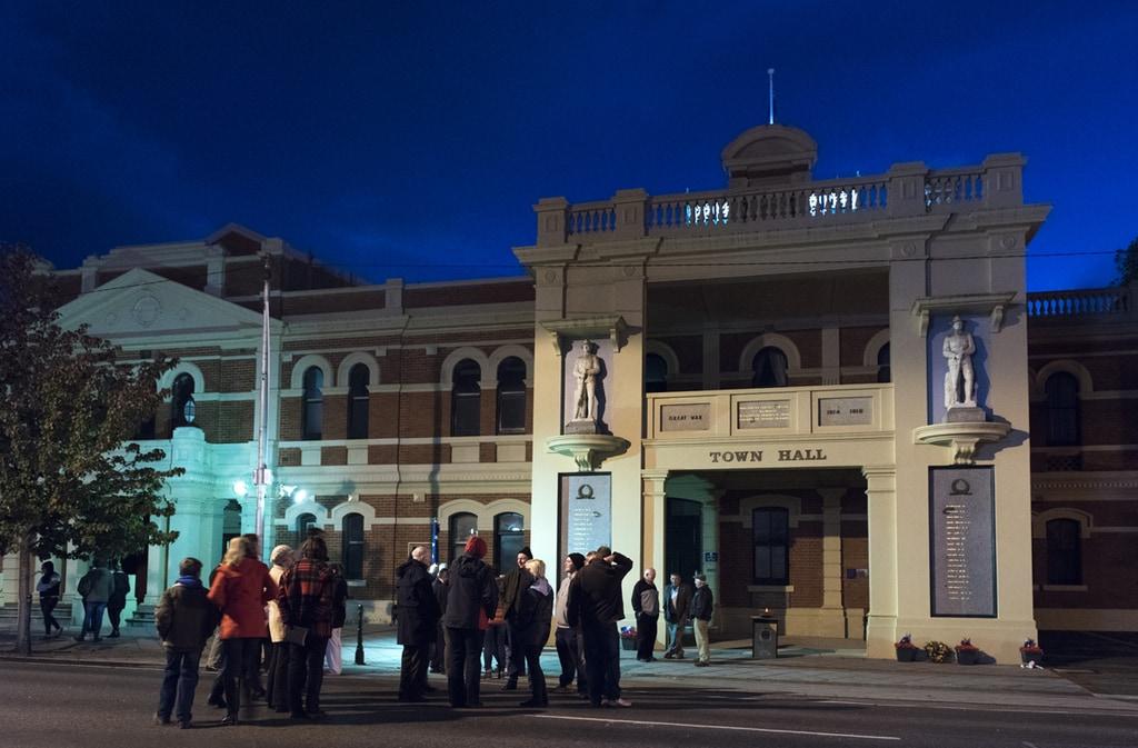 Town Hall, St Arnaud, Vic. 2015